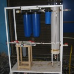 Clean Water Machine for Community Use