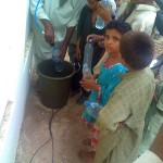 Flood victims getting filtered water